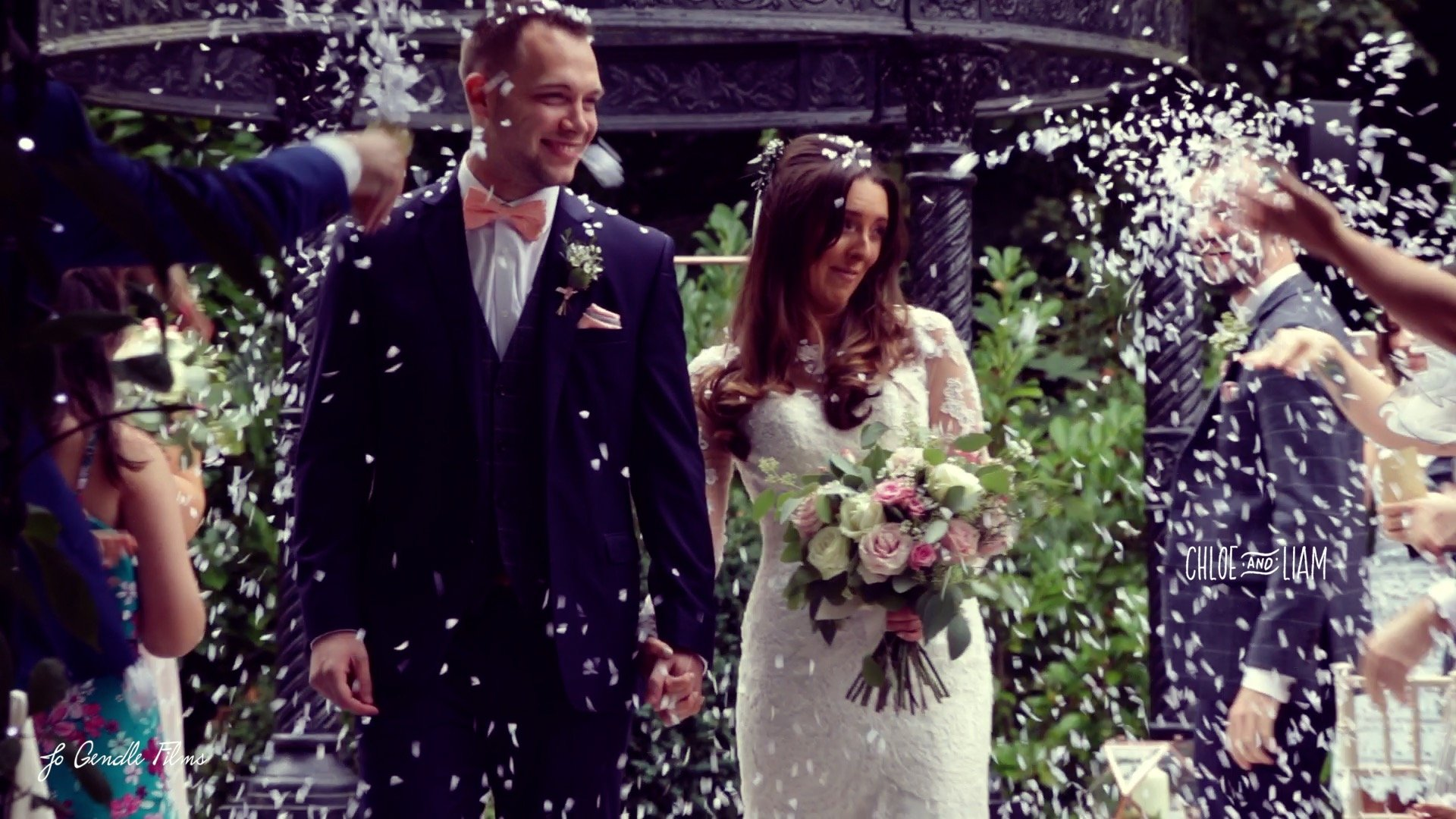 statham lodge wedding confetti
