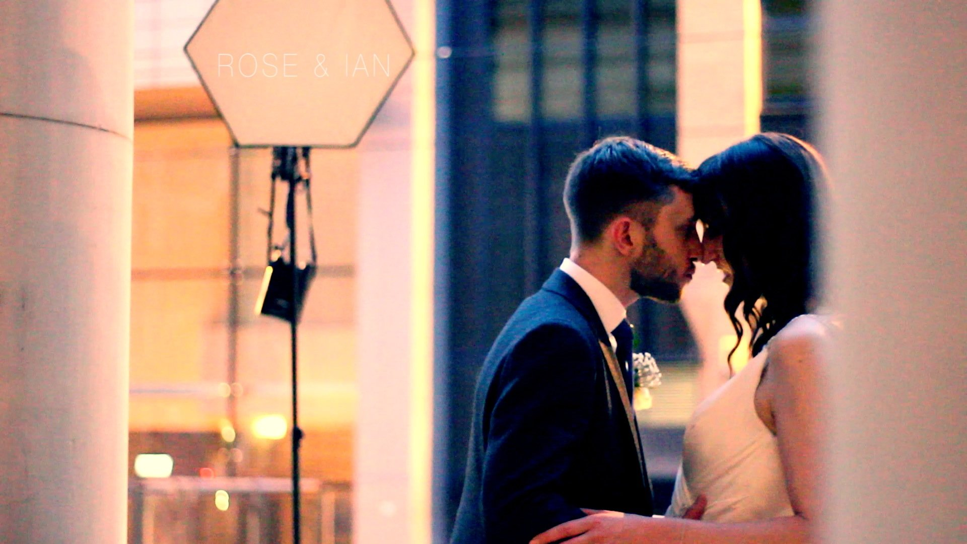 wedding video at eaves hall