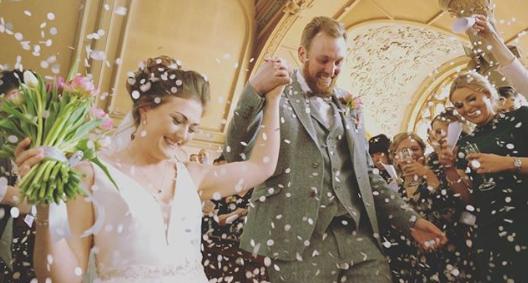 manchester wedding videographer albert hall