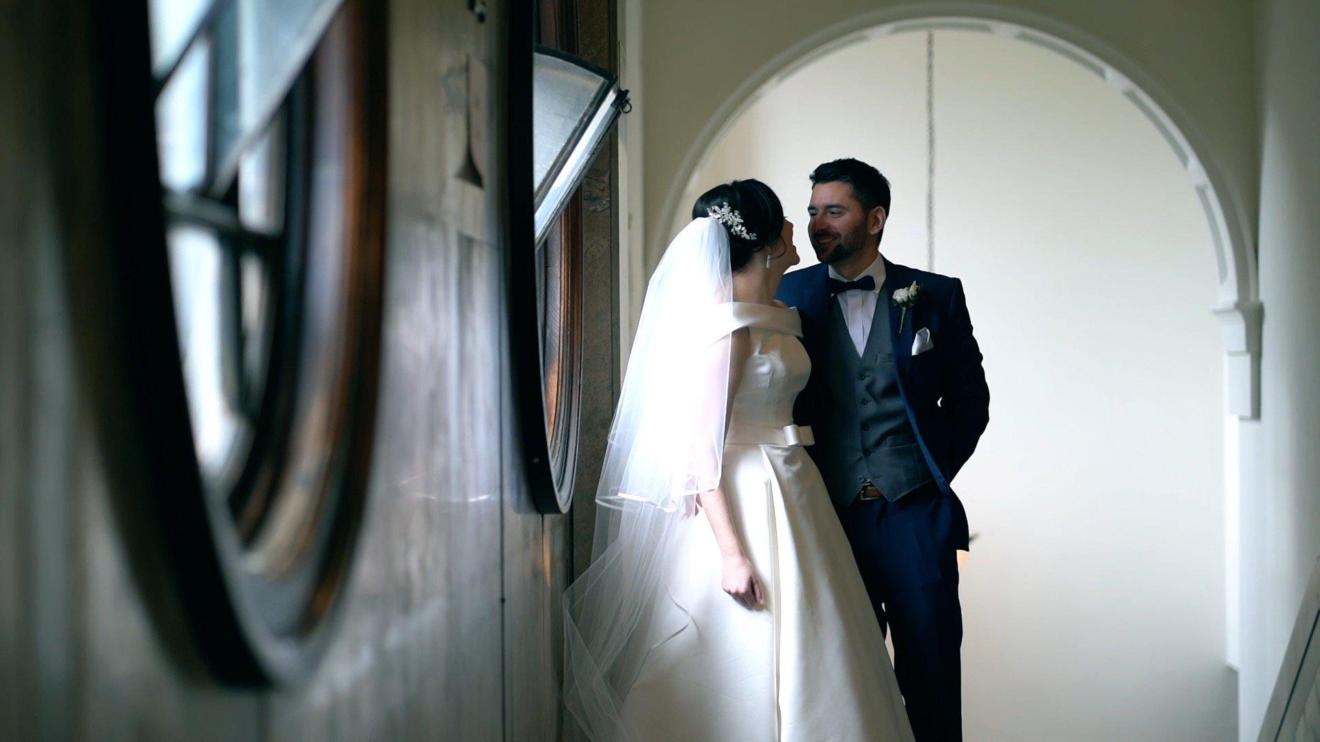 wedding at Lancaster town hall